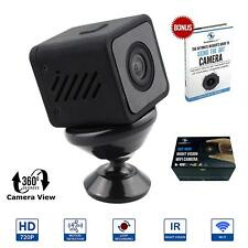 Mini Hidden Camera 720P with WIFI, Night Vision, Motion Detection WIFI, 360 VIEW