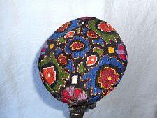 Vintage Toque/Fez Style Hat-Needlepoint-Unworn-S/M-freeUSAship+Gift Wrapped Free