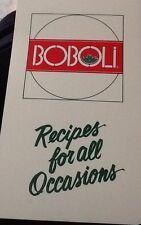 kraft foods cookbook Boboli Italian Bread Shells recipes Tab Divided 2 Ring