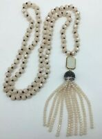 Fashion Bohemian knot tribal Crystal charming crystal Tassel necklace woman gift