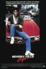 beverly HILLS COP vintage movie poster EDDIE MURPHY funny COLLECTORS 24X36