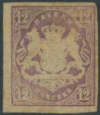 ALLEMAGNE 1867-1869 Bavière N°21* Aspect TB, Cote:500€ (Bavaria-Bayern-Germany)