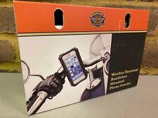 Genuine Harley-Davidson Water Resistant Handlebar Mount iPhone Carrier 76000576