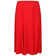 New Women Ladies Long Maxi ITY Skirt Plus Sizes 18-20 to 30-32
