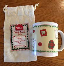 Better Homes And Gardens Christmas Cup Mug W/ Draw String Sack