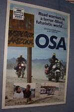 Original 1986 OSA Mad Maxine Kelly Lynch post-nuke sci-fi Bikers