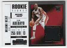 2017-18 Panini Contenders Rookie Ticket Jersey Card *You Pick From List*