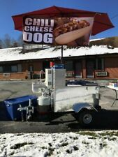 """Lightly Used 2019 52.5"""" x 81"""" Heritage Hot Dog Cart/Street Food Cart for Sale in"""