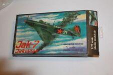 YAK-7 Soviet Fighter Jakovlev JAK-7 model kit in 1/72 scale