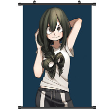 "Hot Anime Boku no Hero Academia Asui Tsuyu Decor Poster Wall Scroll 8/""x12/"" P119"