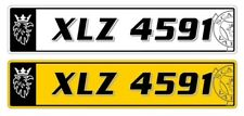 Scania Vabis Number plate Custom made  (Window Sticker, graphic streamline Decal