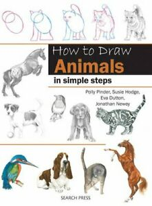 How to Draw Animals by Various Paperback Book The Cheap Fast Free Post