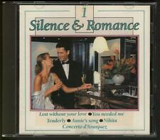 SILENCE & ROMANCE 1 CD Johnny Pearson Kajem Piet Noordijk EASY LISTENING