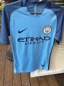 Raheem Sterling Signed Manchester City Shirt 2016/17 ( Tags + COA )