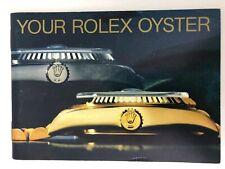 ROLEX Libretto Booklet YOUR ROLEX OYSTER 1989 DAYTONA GMT ORIGINALE