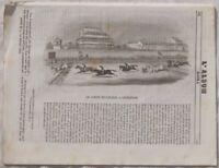 ALBUM DI ROMA CORSE DEI CAVALLI LIVERPOOL NAPOLI 1844