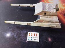 NO MODEL - VULCAN SHUTTLE SURAK CUSTOM IMPULSE DECALS - Star Trek EAGLEMOSS