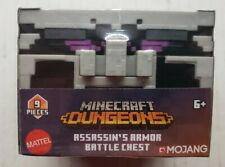Minecraft Dungeons Battle Chest Assassin's Armor Weapon Potion