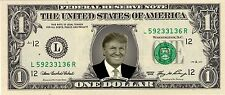 Donald Trump Novelty Dollar Bill