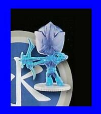 Power Rangers Super Samurai série 2 Transparentblue Mini Figure-New-rare