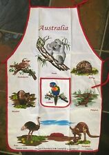 Australian Souvenir Apron Cotton Animal Design New