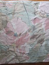 5th Avenue Designs Vtg 1986 Preshrunk Scotchguard Upholstery Fabric Floral 5yds