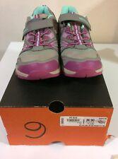 Merrell Girl's Ml-G Capra Bt Ac Waterproof Taupe Velcro Size 6M Shoes Brand New