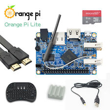 Orange Pi Lite PC Kit with Wireless Keyboard Hdmi 8G Micro SD Card Switch Cable