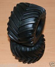 Tamiya 58065 Clod Buster/58089 Bullhead/TXT-1, 9805226/19805226 Tyres/Tires (2)