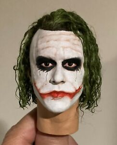 1/4 Scale figure custom The Joker head sculpt Hot Toys Enterbay compatible CNH1