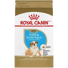 Royal Canin Breed Health Nutrition Bulldog Puppy Dry Dog Food 6 & 30 lbs Bag