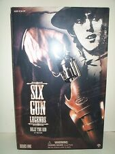 SIDESHOW 12 INCH SIX GUN LEGENDS OF THE WEST BILLY THE KID WILLIAN H BONNEY MIB