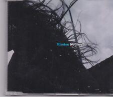 Kirsten-No Psycho cd maxi single