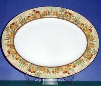 """Lenox Mosaico D'Italia Large Oval Serving Platter 16"""" Made in USA New"""