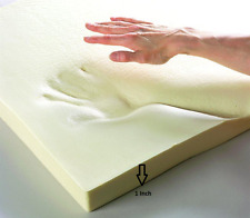 "100% MEMORY FOAM MATTRESS TOPPER AVAILABLE IN ALL SIZES & DEPTHS 1"" 2"" 3"""