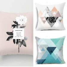 Floral Geometric Pattern Throw Pillow Case Cushion Cover Home Sofa Decor Salable