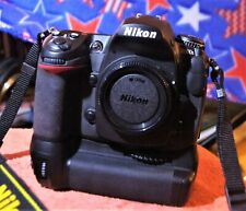 Nikon D D300S 12.3 MP Digital SLR Camera - 7800 clicks, battery grip, 8 battery