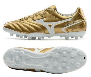 Mizuno Men Monarcida Neo AG Cleats Soccer Gold Football Boot Spike P1GA210650