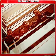 The Beatles 1962/1966 Two LP Capital # SEBX-11842 RED VINYL 1973 Release