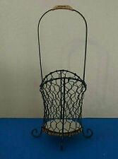 Hanging Black Wire Basket