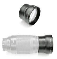 2.2x TELEPHOTO LENS 62mm for Camera Camcorder Video Canon Nikon Sony Pentax