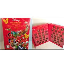 DISNEY MAGICAL MINIATURES SPECIAL TAIWAN EDITION 42 Figures COMPLETE Red Box