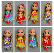 18 Items for Kelly Dolls &12cm Dolls Dress 8 Piece Clothes + 10 pair  Shoes