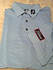 PGA Tour Staff Issue Titleist Patch Logo FootJoy Golf Polo Shirt White XL
