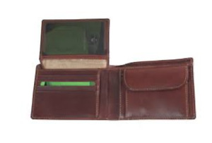 Tony Perotti Gents Note Case With Coin Section