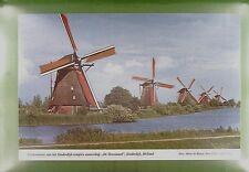 CPA Holland Kinderdijk Windmill Moulin a Vent Windmühle Molino Wiatrak Mill w174