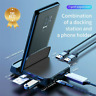 TypeC to HDMI Dex Station Charging Dock SD TF Extension Hub For Samsung MacBook#