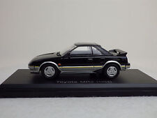 TOYOTA 1st MR2 (AW11) 1984  Black / Silver  1:43 NOREV USED