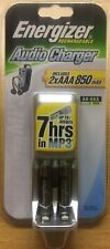 NEW ENERGIZER RECHARGABLE AUDIO CHARGER INCLUDING 2x AAA 850 mAh