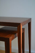 Severin Hansen Rosewood Side Tables Denmark danish design Palisander Satztisch